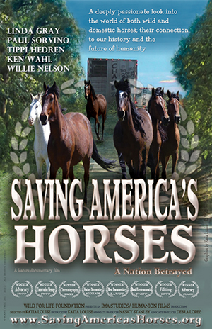 Saving America's Horses Poster